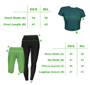 feat.FIFE Loungewear Athleisure Size Guides